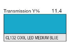 Lee Filters CL 132 Cool LED Medium Blue Lighting Gel Sheet