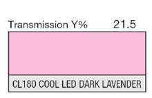 Lee Filters CL 180 Cool LED Dark Lavender Lighting Gel Sheet