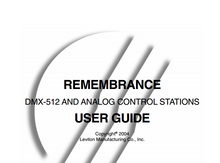 Leviton Remembrance Manual