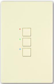 CueStation Mystique 3 button station 2 wire