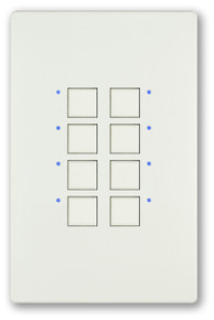 CueStation Mystique in White (NOTE: Specific number of buttons may not be accurate.)