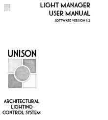 ETC Unison Light Manager Manual V1.3