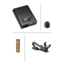 Audio-Technica 803 clip-on microphone w/ phantom power (AT 803) - Accessories