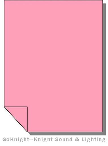 """Lee Filters Lighting Gel Roll 036 Medium Pink (Lee 036 roll (2""""))"""