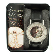 Leonardo daVinci Backwards Watch image
