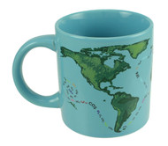 Global Warming Mug image when cold.