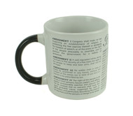 Disappearing Civil Liberties Mug image when cold.