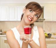 Half Full Glass - Drink Positively