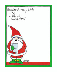 Holiday Grocery List by Murray's Law. Product #412-08870