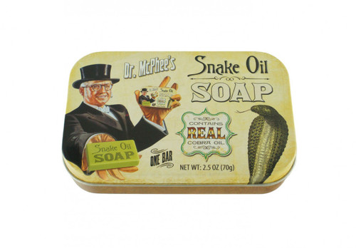 Snake Oil Soap Tin