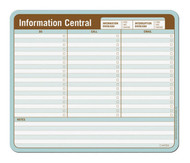 Information Central Paper Mousepad