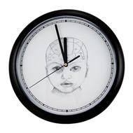 Baby Phrenology Clock
