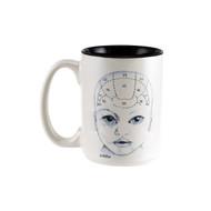 Phrenology Head Mug - Baby