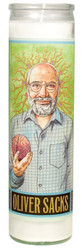 Oliver Sacks Secular Saint Candle