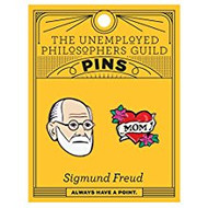Freud and Mom Pin