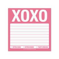 XOXO Sticky Pad