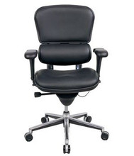 ergohuman chair le10erglo low back and leather - Ergohuman