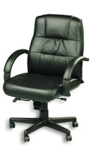 Eurotech Ace Executive Leather Mid-Back Chair 758