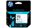 HP No.711 29ml Cyan Ink Cartridge 3 Pk -