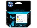 HP No.711 29ml Yellow Ink Cartridge 3 Pk -