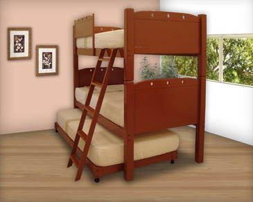 Bunk Bed Triple Single Size   Tablero
