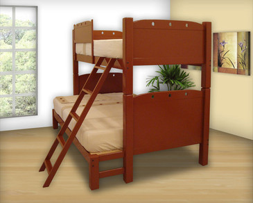 Bunk Bed Mixta Ind - Mat Tablero