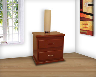 Nightstand 2 Drawers 40 x 60