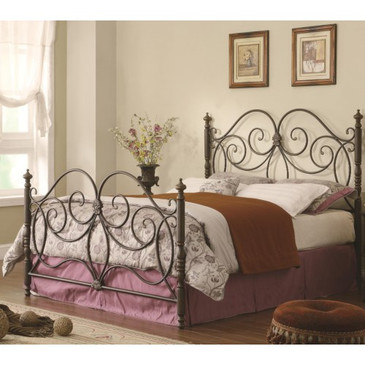 London Metal  King Bed