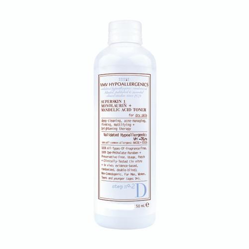 SuperSkin 1 Monolaurin + Mandelic Acid Toner 50ml (mini)
