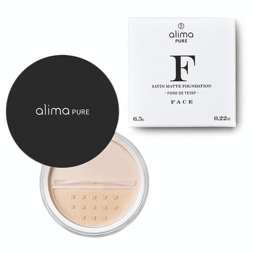 Satin Matte Foundation 7.5g + Free 1 Natural Definition Mascara