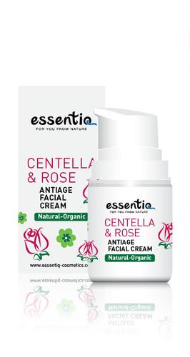 Anti-Age Facial Cream Centella & Rose 50ml