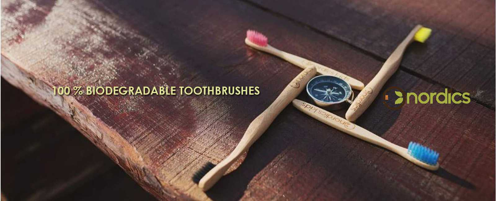 Nordics Biodegradable Toothbrushes