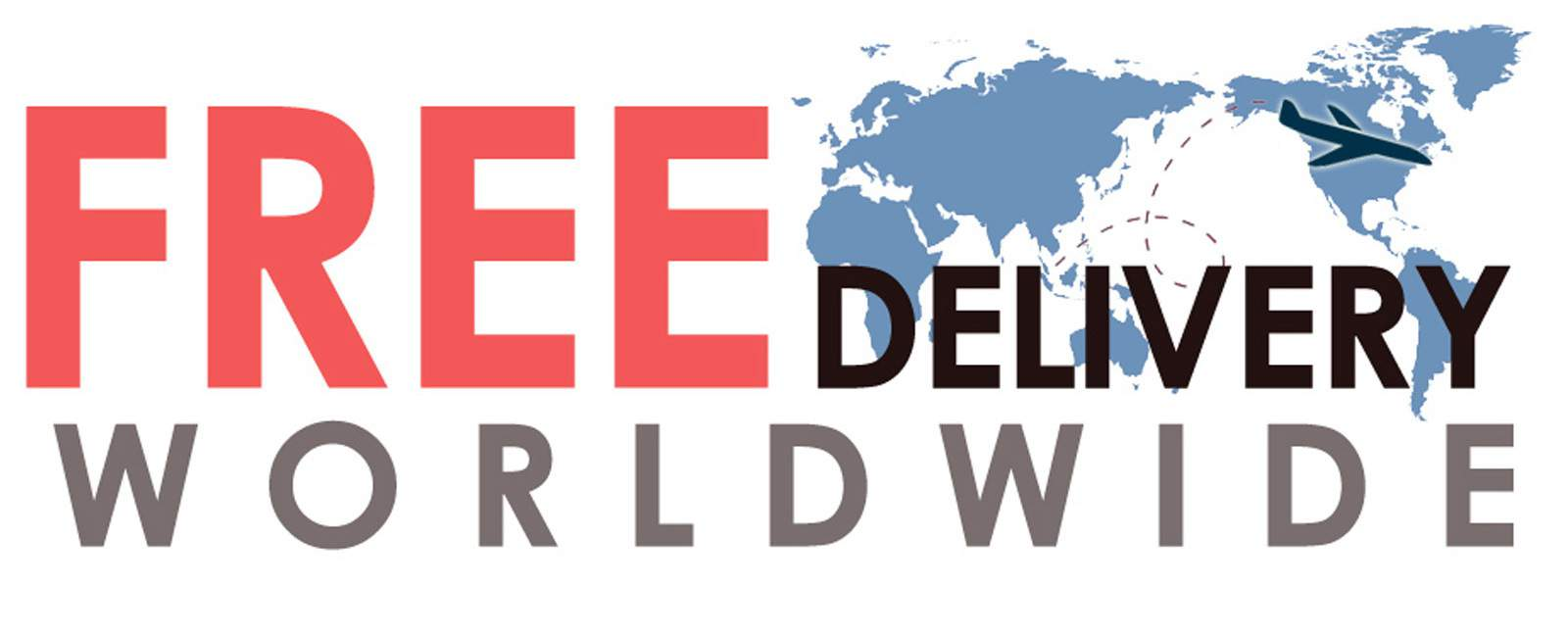 Free Worldwide  Delivery