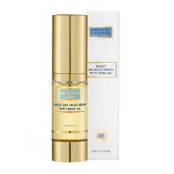 Moroccan Natural Finest 24K Gold Serum With Rose Oil 15ml