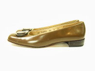 Vintage Salvatore Ferragamo Green Loafer Shoe