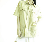 Vintage Shirt Designs Safari Jacket