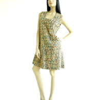 Vintage 1960s Tweed Dress - Saks 5th Avenue Chevron Dress
