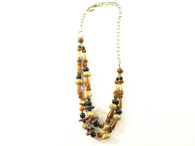 Vintage Tribal Jewelry - Double Strand Chain at Borough Vintage.