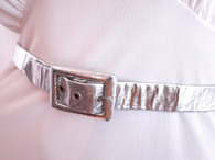 Vintage 1960's Space Age Metallic Belt