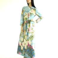 Watercolor Floral Maxi by Lady Carol