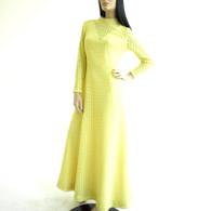1970s Lace Maxi Dress