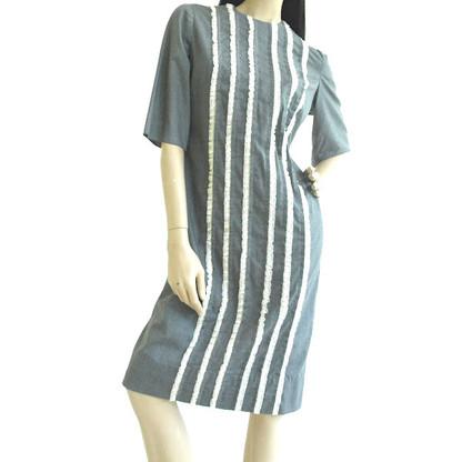 Vintage 1960'S Jon. McCauley Chanmbray Lace Dress