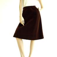 1970s Givenchy Velvet Skirt