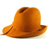 Henry Pollak Western Fedora Hat