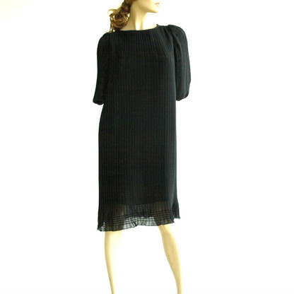 1970s Little Black Evening Dress