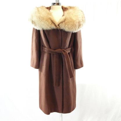 Brown Fox Wrap Coat