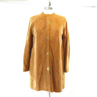 Suede Toggle Coat