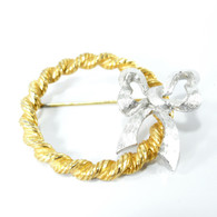 DeNicola Wreath Brooch