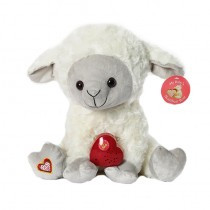 HeartBeat Lamb - Ivory/Gray