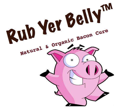 Rub Yer Belly™ - Natural & Organic Bacon Cures by go lb. salt ® - store.golbsalt.com